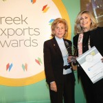 Gold βραβείο στην κατηγορία Top Export Assistance Company παραλαμβάνει κα Εύη Ζεμπίλη, Υπεύθυνη Εταιρικής Επικοινωνίας της εταιρείας ΕΥΡΩΣΥΜΒΟΥΛΟΙ Α.Ε. από την κα. Παναγιωτοπούλου, Γενική Γραμματεύς του Ελληνοαμερικανικού Εμπορικού Επιμελητηρίου και Πρόεδρο Επιτροπής του «Εκπαίδευση Καινοτομία Επιχειρηματικότητα».