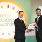 Bronze βραβείο στην κατηγορία Top Industrial Company παραλαμβάνει κ. Πέτρος Μιχελακάκης, Διευθυντής Ποιότητας της εταιρείας ΒΙΟΡΑΛ ΑΒΕ από τον κ. Γεώργιο Τοσούνη, Σύμβουλο ΟΕΥ Α' & Διευθυντή Β8 Δ/νσης Επιχειρηματικής Ανάπτυξης, Υπουργείο Εξωτερικών