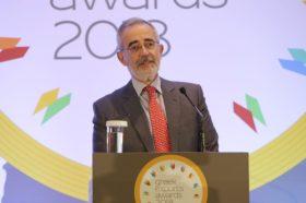 Χαιρετισμός:  Δημήτρης Χαλεπίδης, Πρόεδρος ΕΝΔΥ ΟΕΥ, Σύμβουλος ΟΕΥ Α΄, Διευθυντής, Β1 Διεύθυνση Στρατηγικού Σχεδιασμού, Υπουργείο Εξωτερικών
