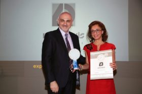 A: SPECIAL EXPORTS AWARDS / Τοp Innovation in Exports - SILVER:  Δ. ΔΡΑΚΟΥΛΑΚΗΣ