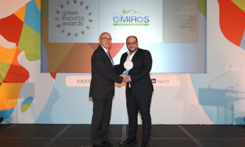 Top Greek Export Company 2019_Silver_OMIROS DAIRY INDUSTRY SA